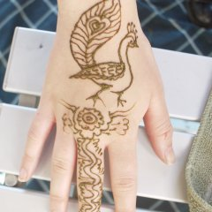 Henna design @ Strawberry Fair